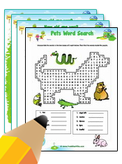 Pets ESL Worksheets