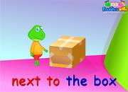 Toys, Prepositions of Place Sentences / Words