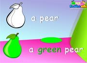 Colors Lesson Sentences & Words