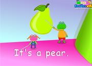 Fruits Lesson Sentences & Words