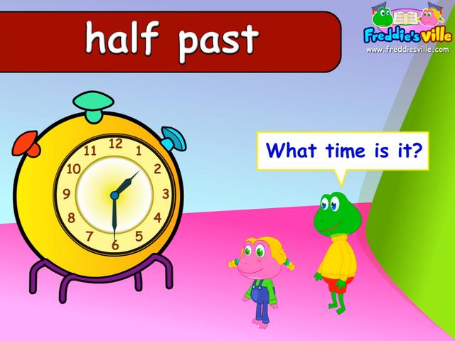 telling time oclock