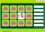 Action Verbs Present Simple Memory Game