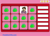 Action Verbs Present Progressive Memory Game