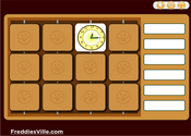 Telling Time, Quarter Past, Quarter to Memory Game