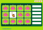 Toys Vocabulary Memory Game