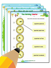 Time Telling Worksheets