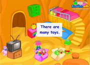 Toys: Where is my teddy? Dialogue