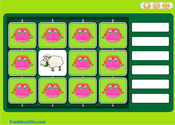 Farm Animals Memory Game