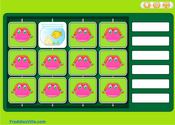 Pets, Domesticated Animals Memory Game