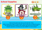 Classroom Supplies Board Game Online