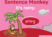 Weather Sentence Monkey Game