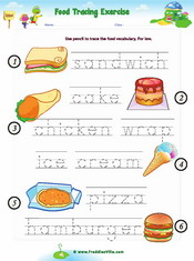Food Tracing Worksheet