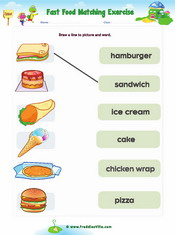 Food Matching Exercise